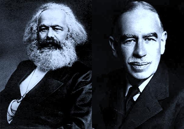 Karl Marx, o mestre pouco falado deKeynes