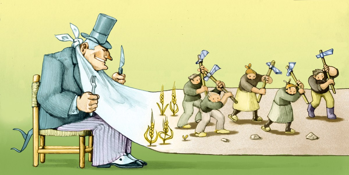 Os lucros estão encolhendo e é você quem está pagando aconta
