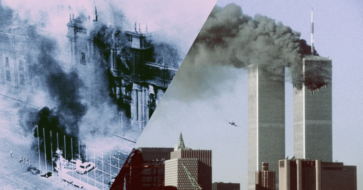 O 11 de Setembro: Do Chile aos EstadosUnidos