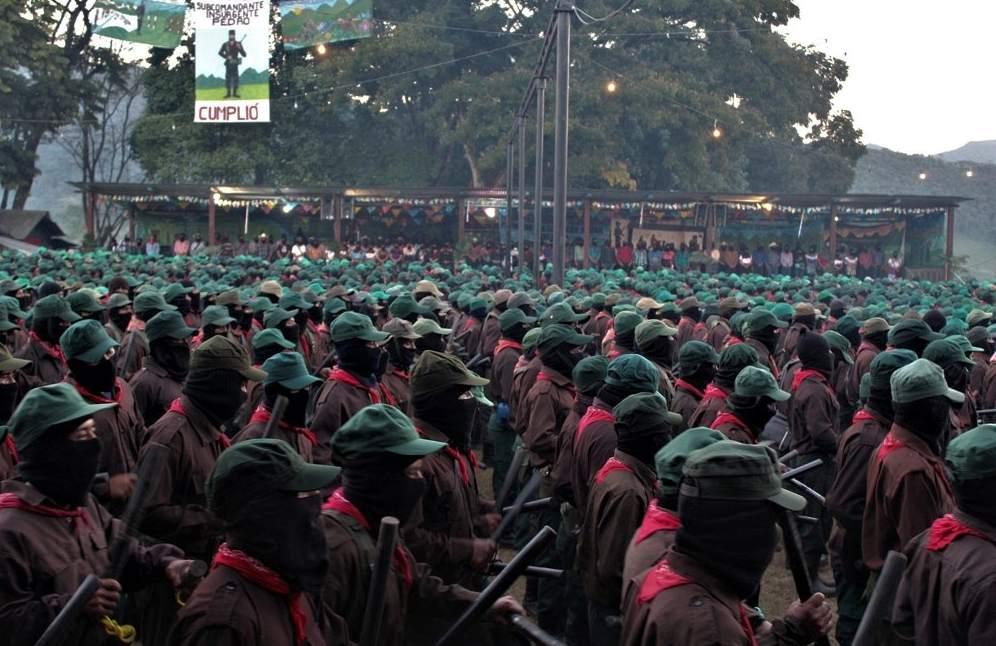 México: Zapatistas retomam aofensiva